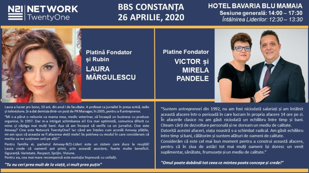 BBS CONSTANȚA @ Hotel Bavaria Blu Mamaia